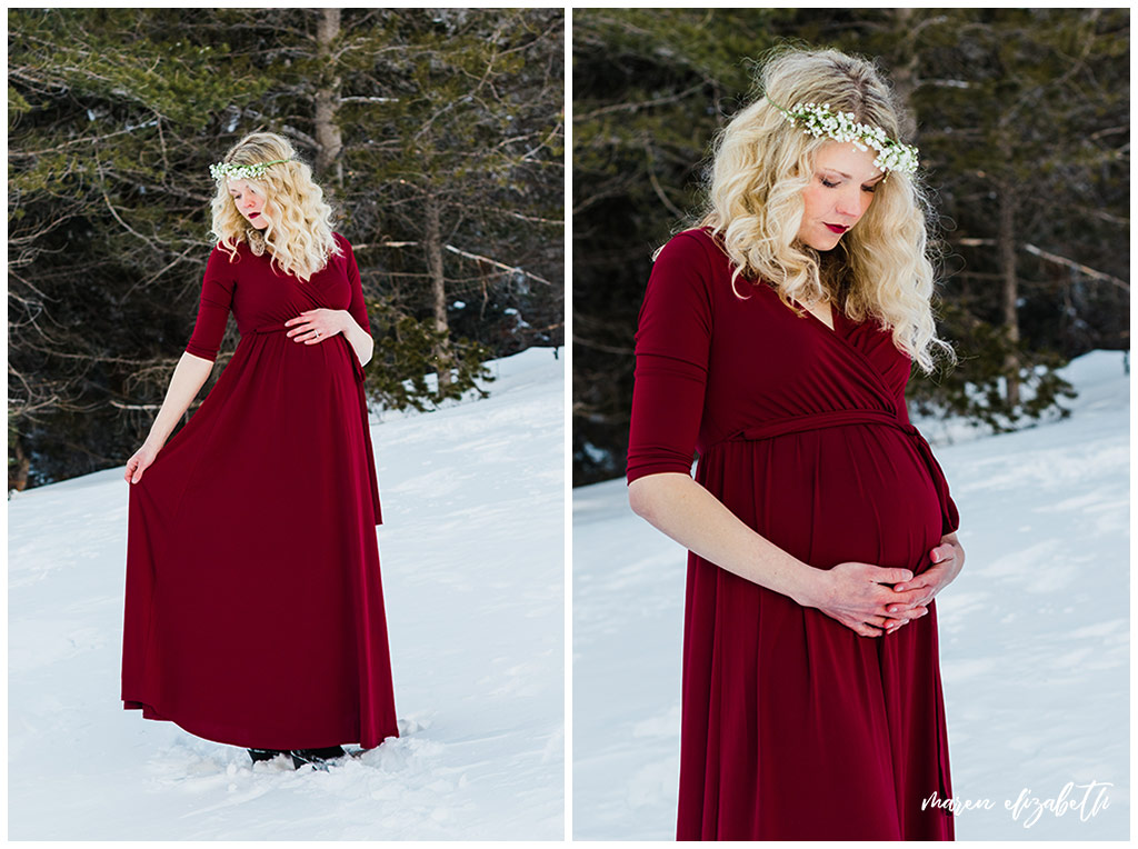 This Tibble Fork maternity session is a cut above the rest. Here's why. The #1 way to improve your pictures is to invest in yourself. | Maren Elizabeth Photography | Arizona Photographer