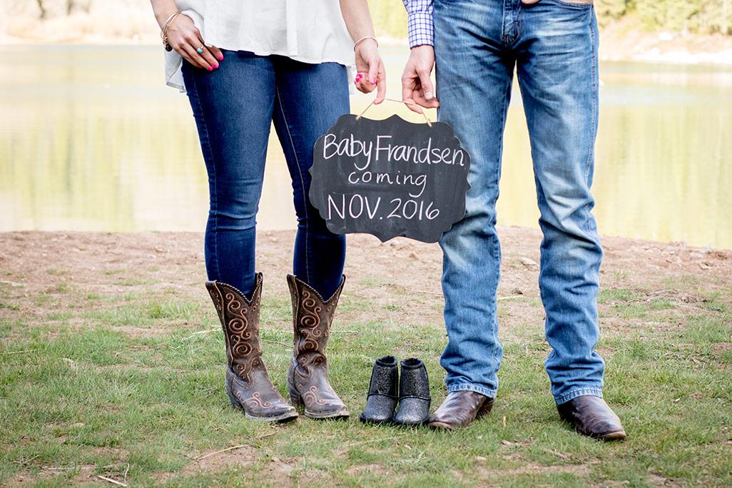A pregnancy announcement photo shoot at Tibble Fork Reservoir, American Fork Canyon, UT   Arizona Photographer   Maren Elizabeth Photographer