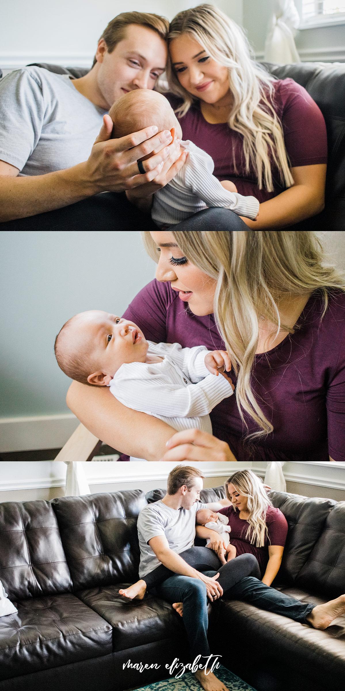 Peoria Arizona Newborn Pictures | Hair and Makeup by @AllieLareeBeauty | Maren Elizabeth Photography | Peoria Arizona Newborn Photographer