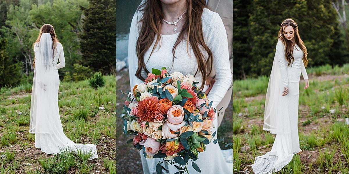 Tibble Fork Bridal Pictures   Gilbert, AZ Photographer