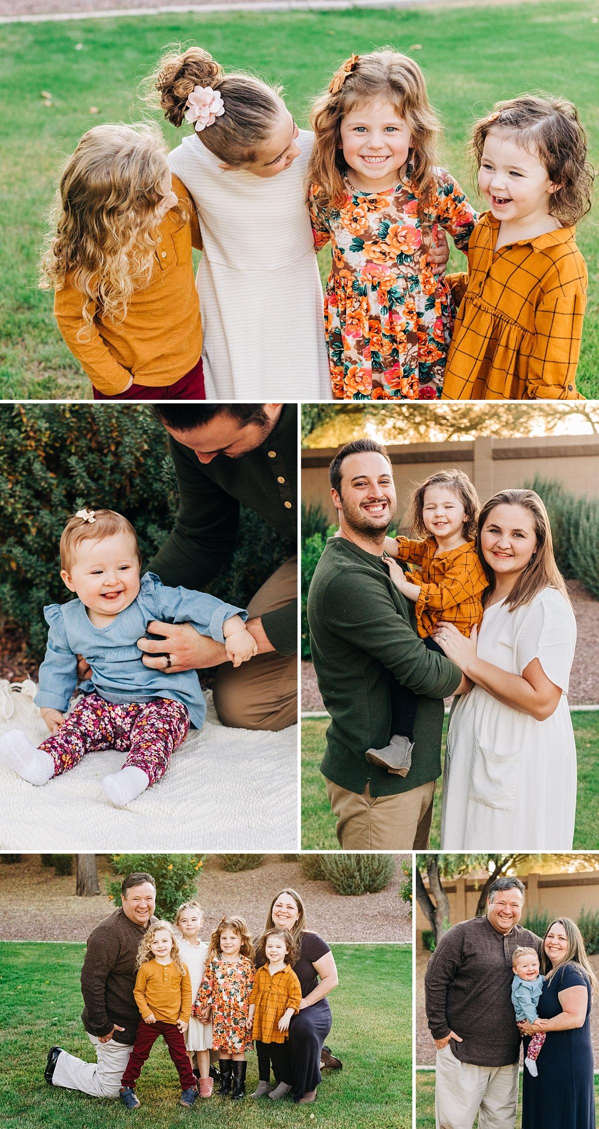 Arizona Extended Family Photographer