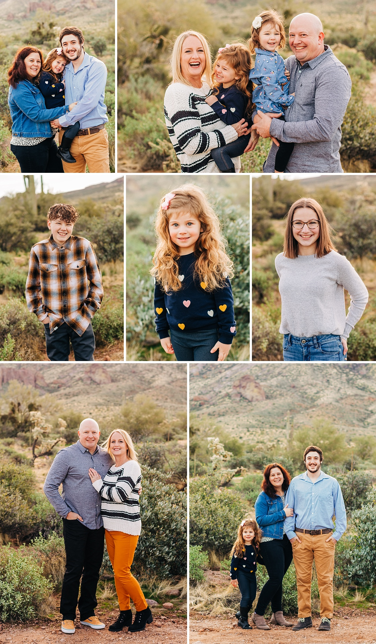 Lost Dutchman Family Pictures   Extended Family Photographer