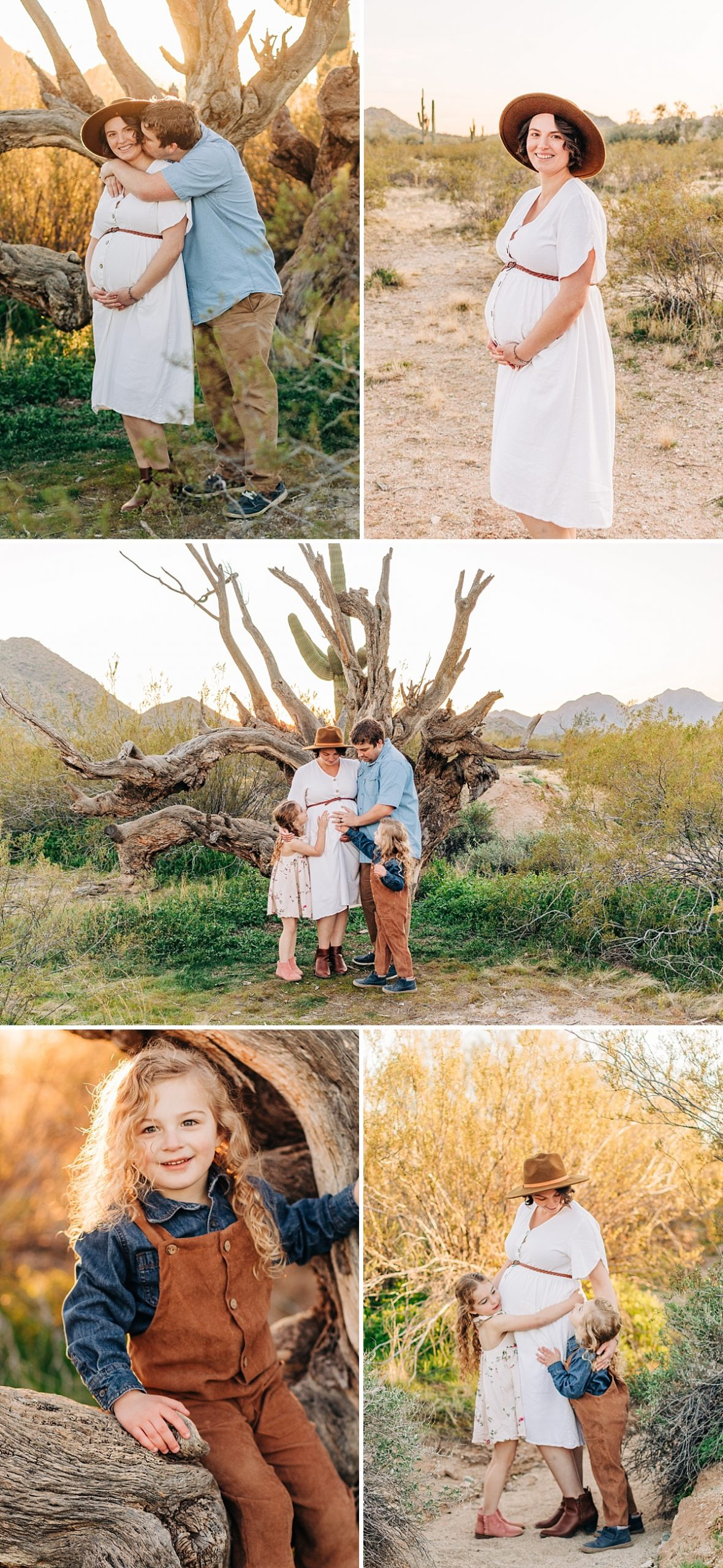 San Tan Mountain Maternity Pictures | Queen Creek Maternity Photographer