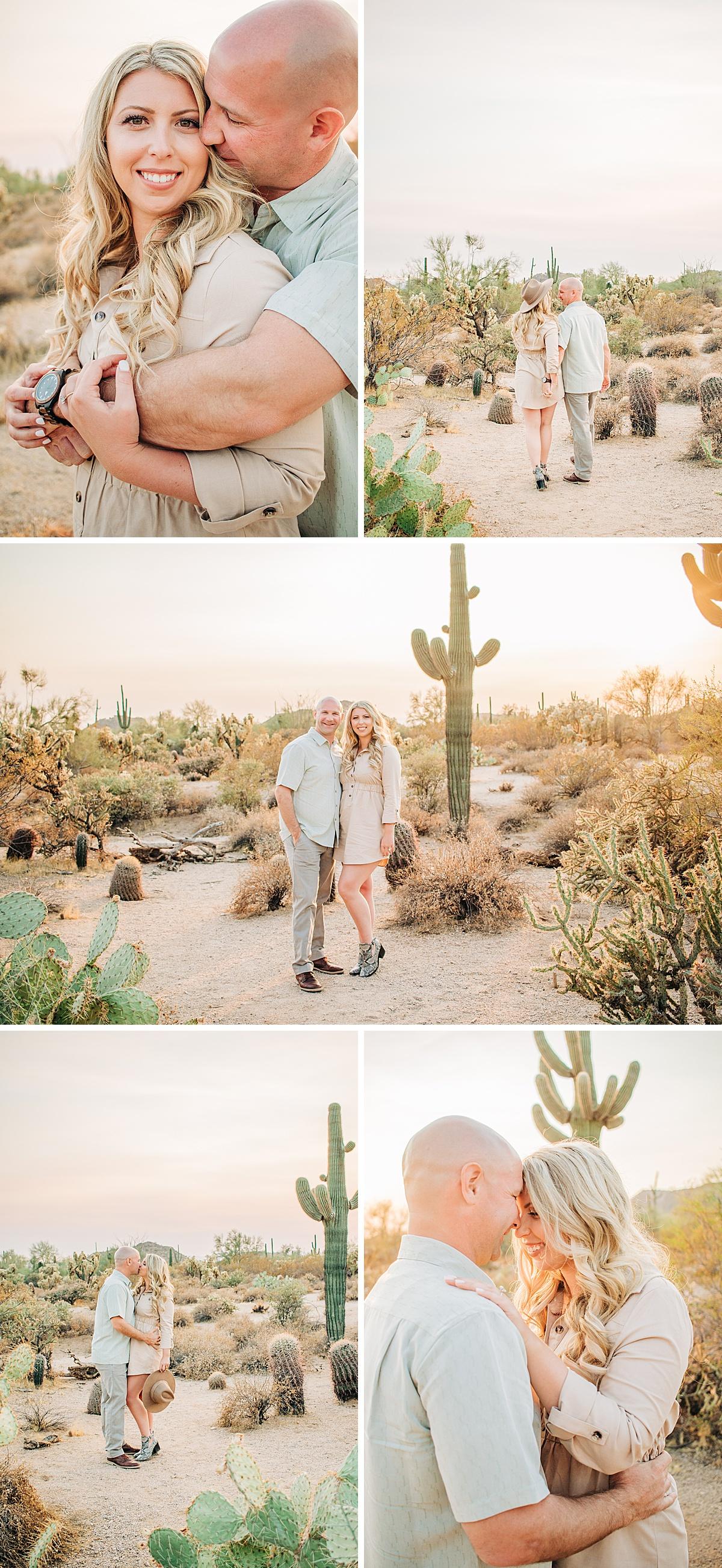 Desert Hawk Trailhead Family Picatures | Usery Mountain Regional Park