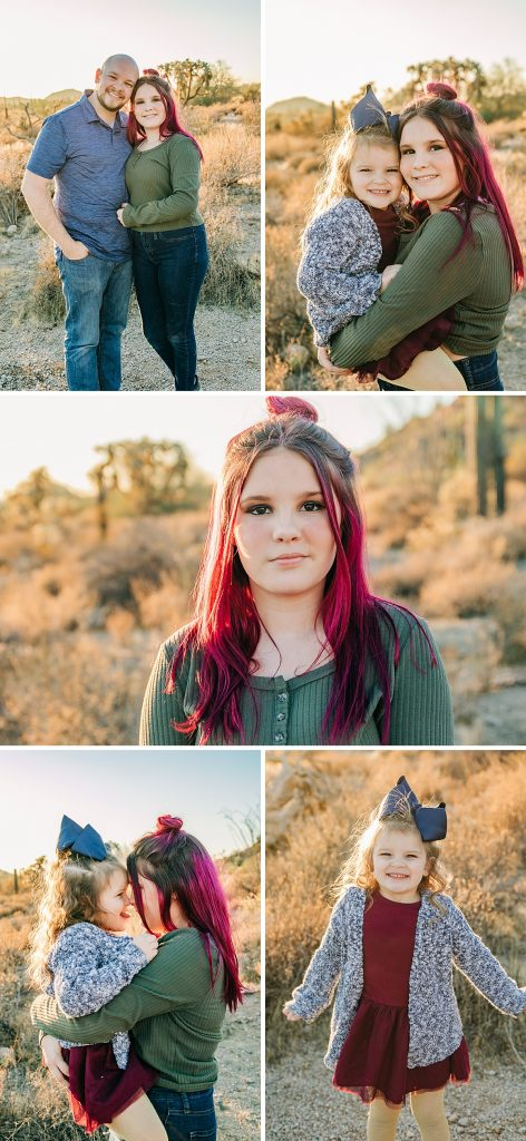Usery Mountain Extended Family Pictures