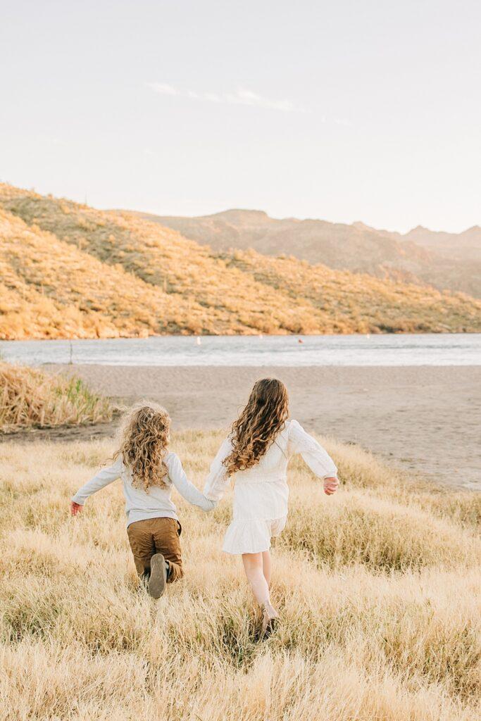 Beach Family Pictures in Arizona