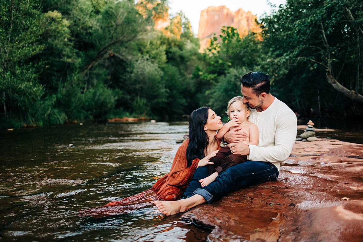 Sedona Family Pictures   The Maren Elizabeth Difference