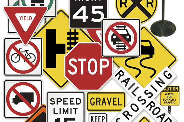 Speed Bumps and Signs