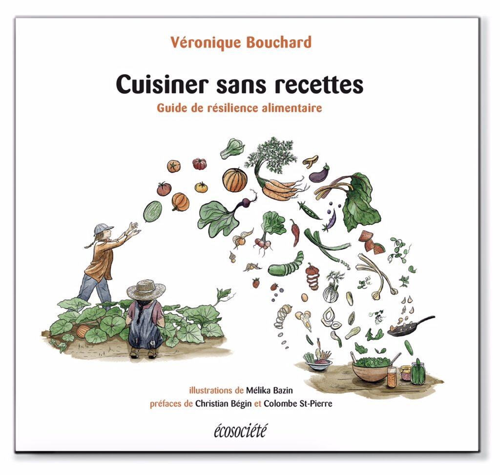 Cover -ç uisiner sans recettes, Éditions Écosociété