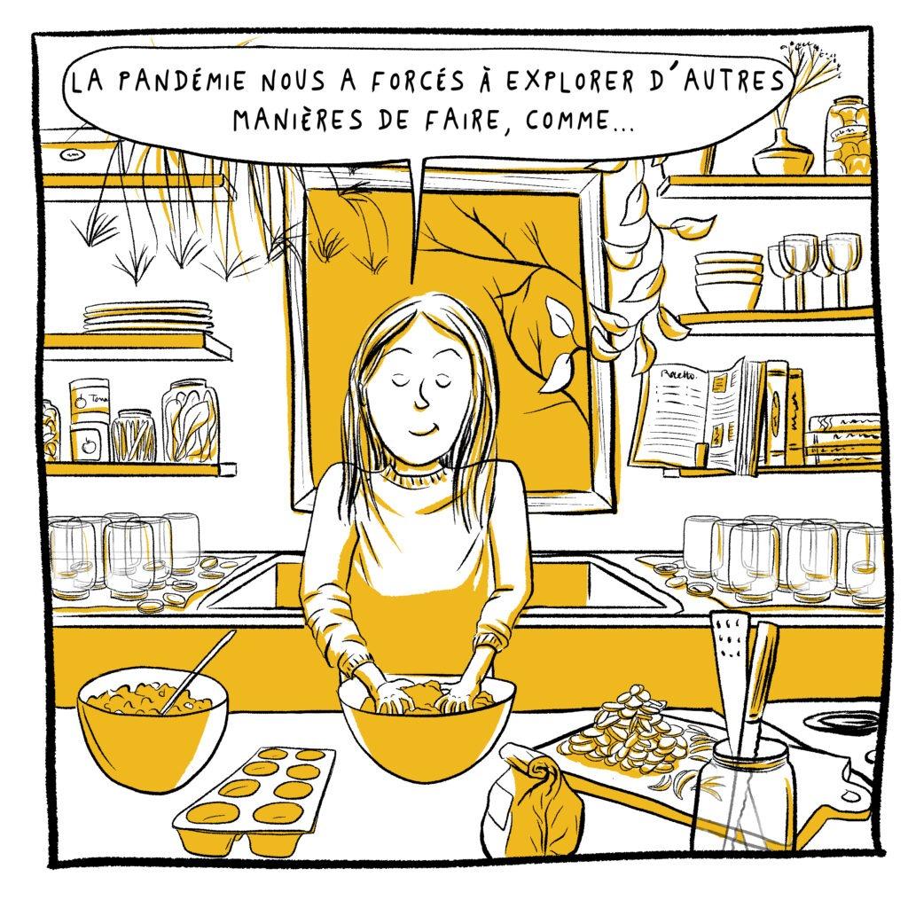 Pandémie - Bd - mélika illustration