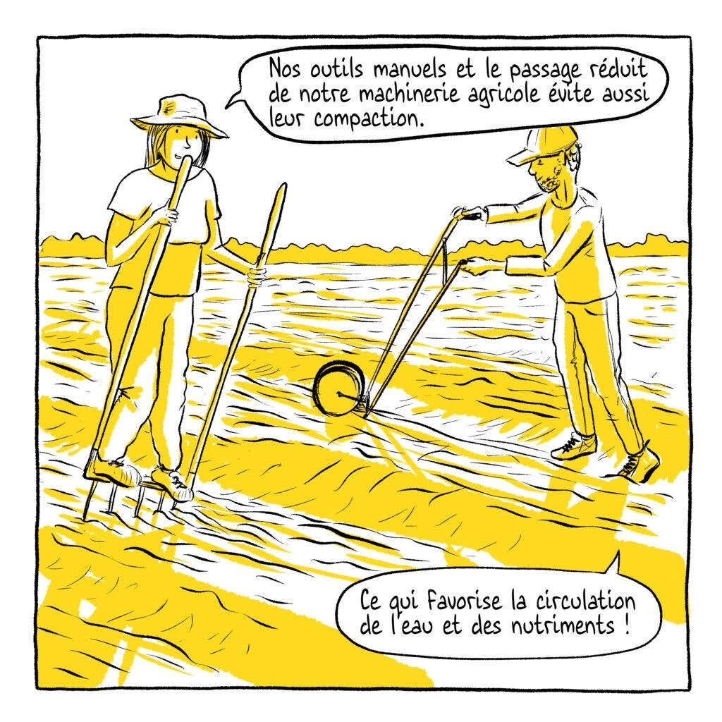 Santé des sols BD - MelikaIllustration