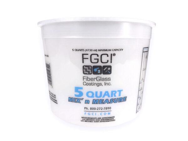resin mixing cup 5 Quart