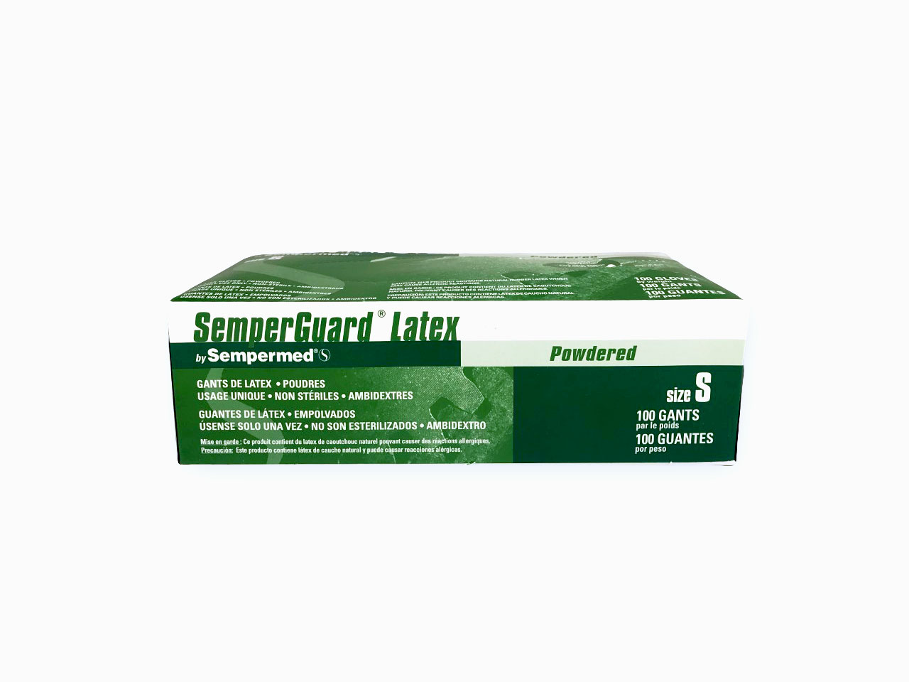 Selling Small Semperguard Latex Gloves