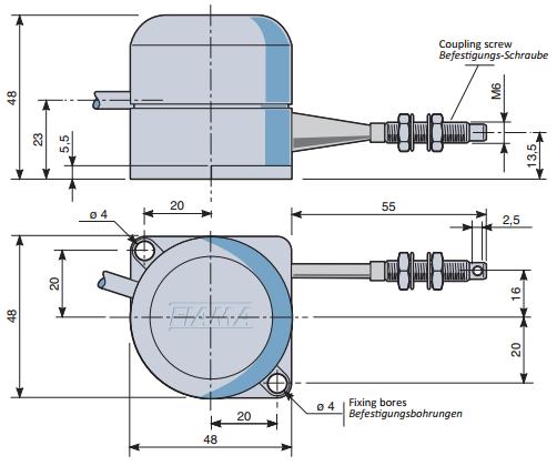Draw Wire Encoders Products EF500-900 FIAMA US