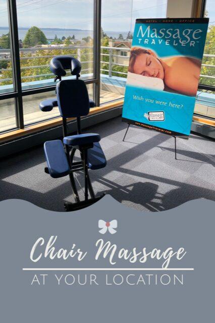 Chair massage in Seattle