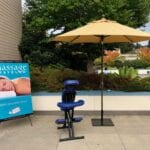 Massage Traveler outdoor chair massage