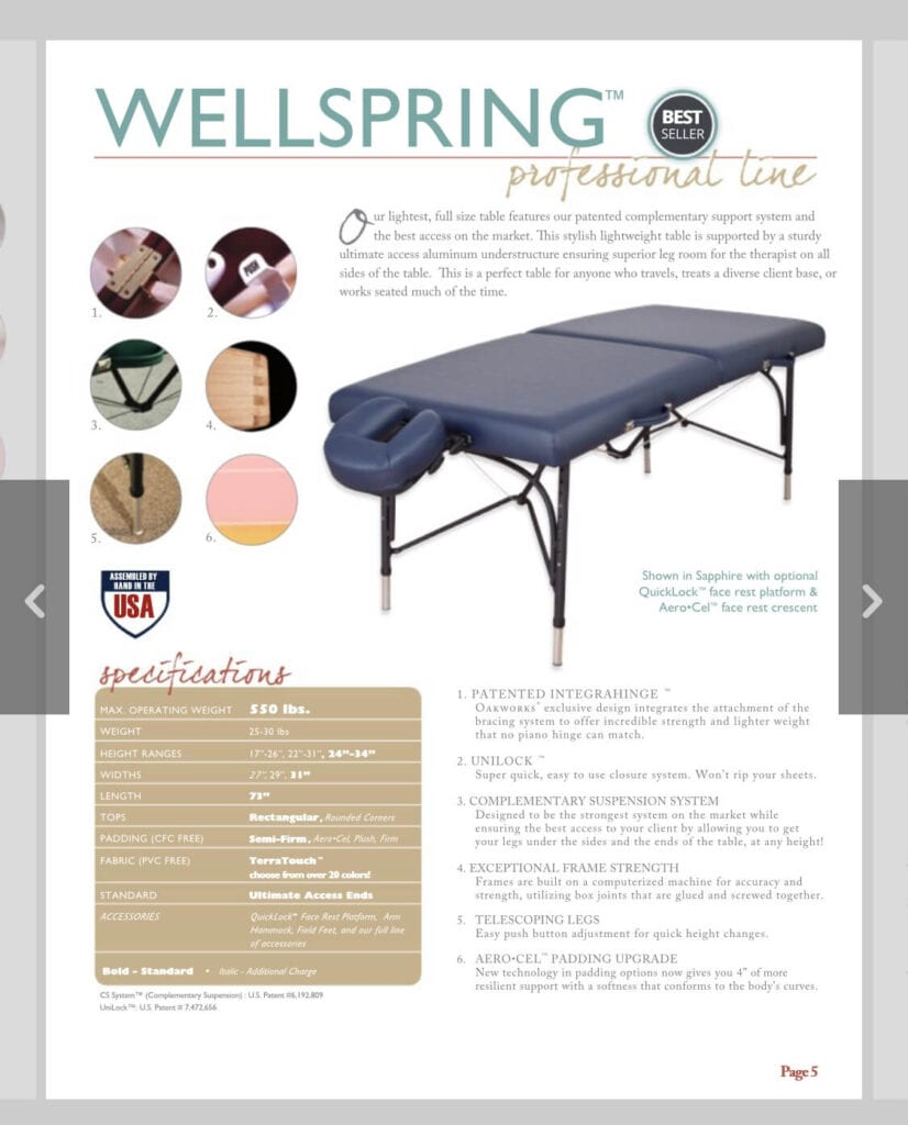 Best massage table for your home