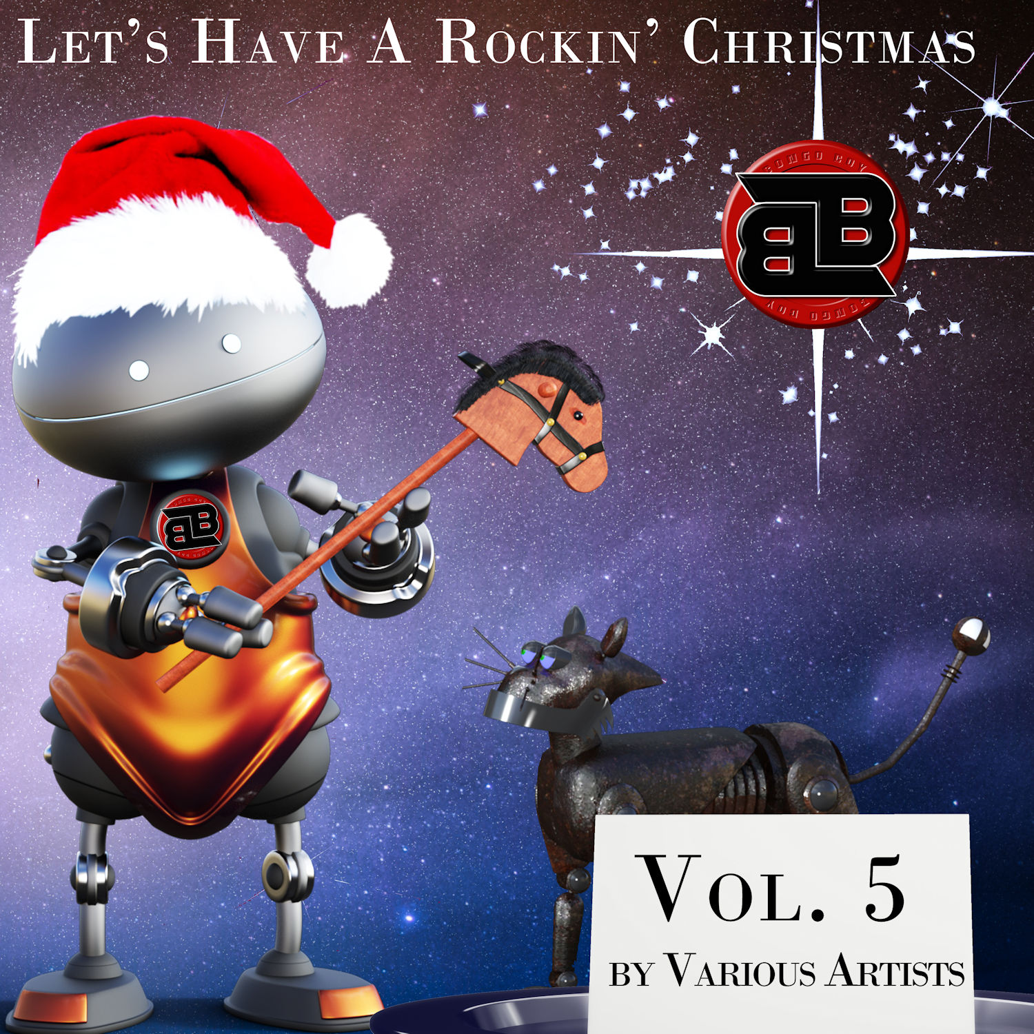 Vol 5 Let's Have A Rockin Christmas   The Holiday Album by Various Artists