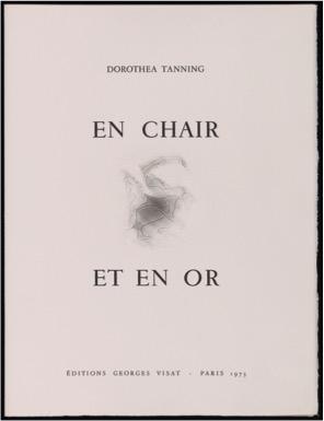 Dorothea Tanning, <br /><em>Enchair etenor</em>, 1973