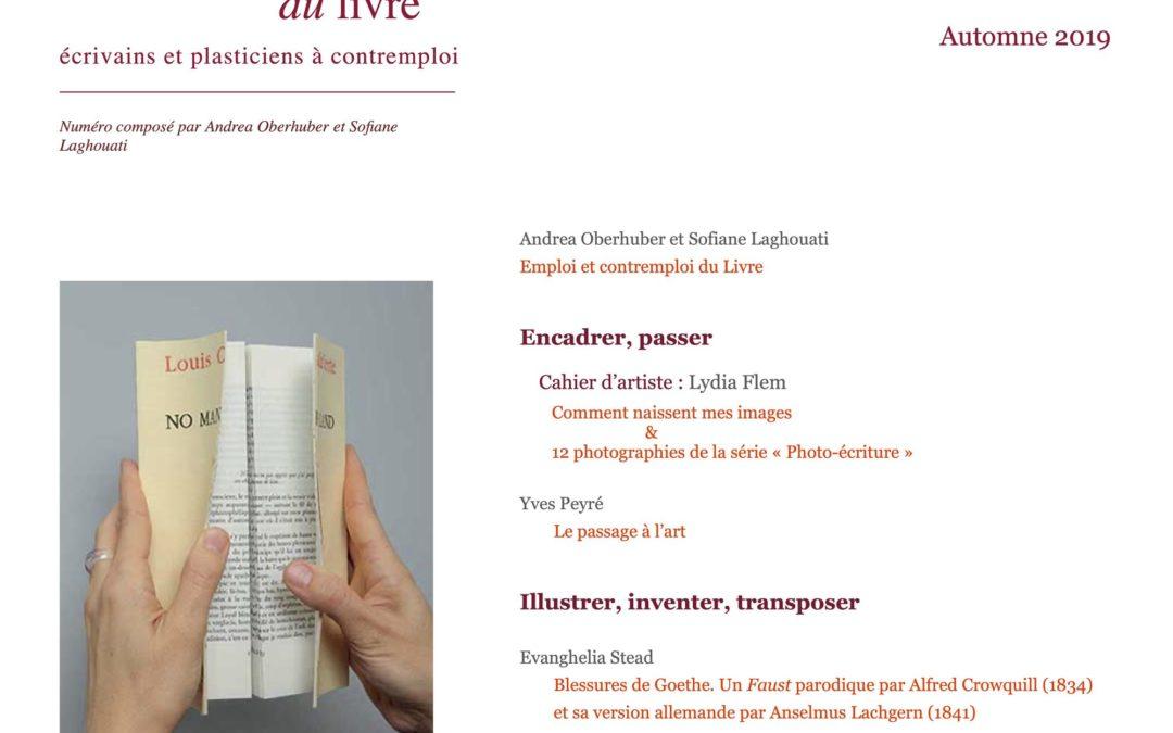 Publication 2019:Emploi etcontremploi duLivre
