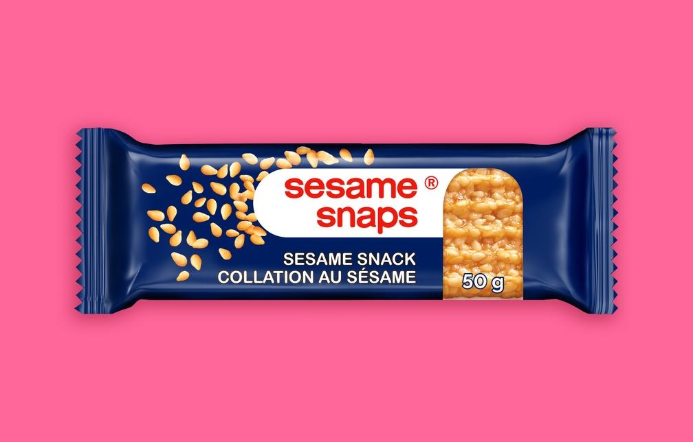 www.ExclusiveBrands.ca Sesame Snaps