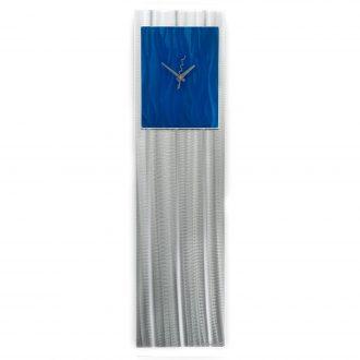 Blue Vibe Clock - our artisan Fine Metal Art