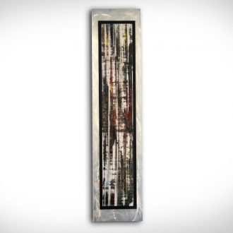 Abstract Birch - our artisan Fine Metal Art