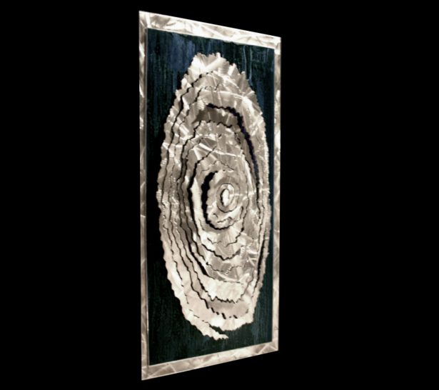 Conical Fracture - our artisan Fine Metal Art