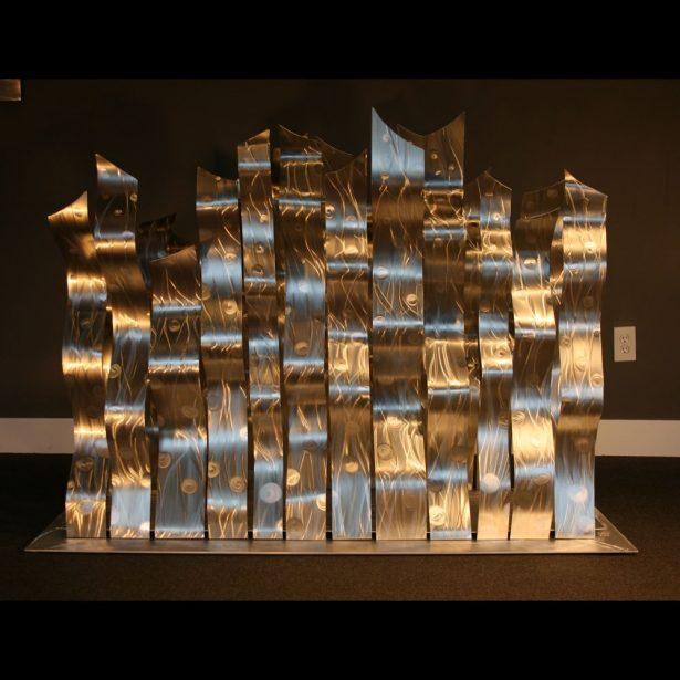 Dancing Silvers - our artisan Fine Metal Art