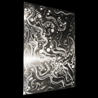 Entrapped Particles - our artisan Fine Metal Art