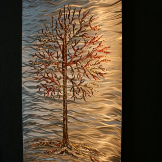 Fire Lake - our artisan Fine Metal Art