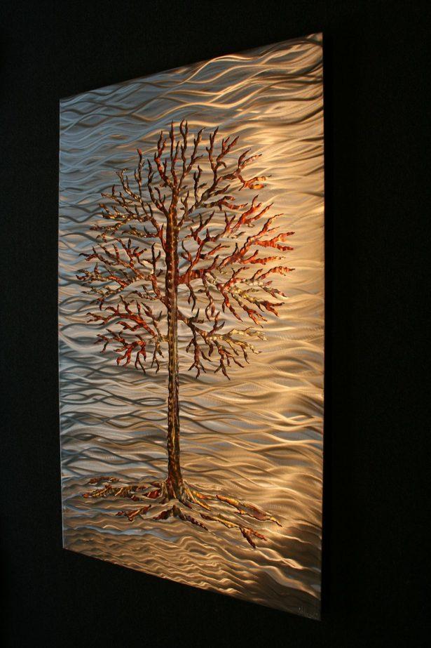 Fire Lake - our artisan Fine Metal Art