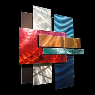 Ice Spectrum 1 - our artisan Fine Metal Art