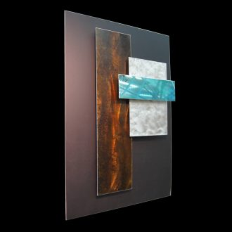 Ice Spectrum 2 - our artisan Fine Metal Art