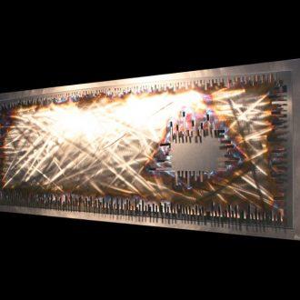 Interstellar - our artisan Fine Metal Art