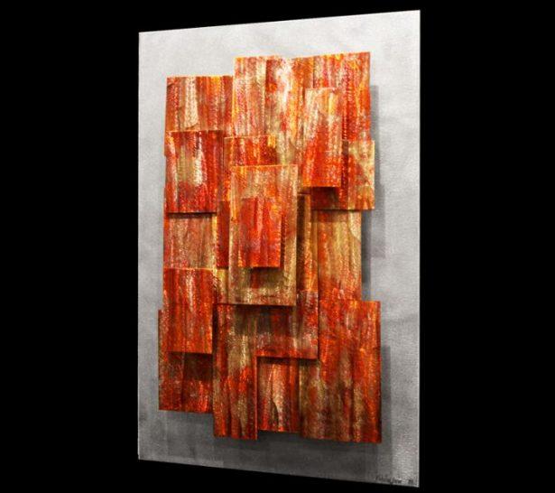 Ionosphere - our artisan Fine Metal Art