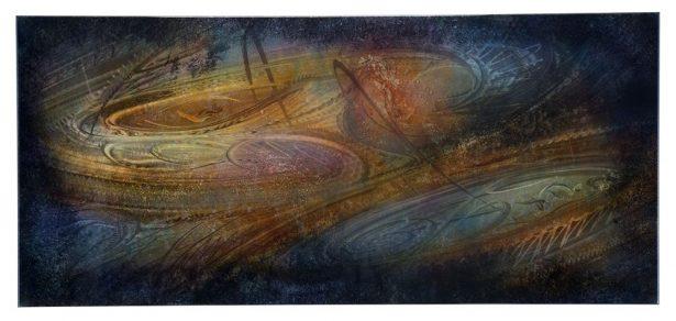 Northern Lights - our artisan Fine Metal Art