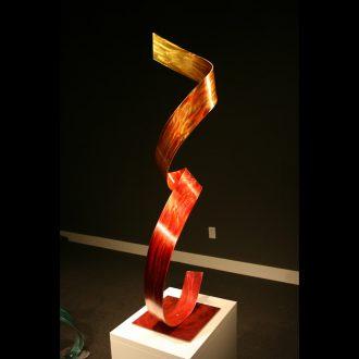 Tres Flame - our artisan Fine Metal Art