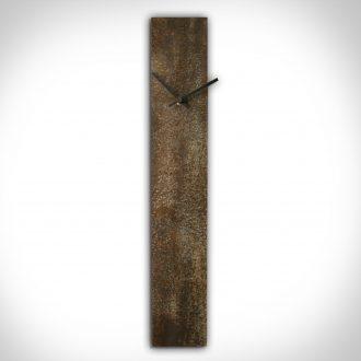 Corrosion Brown Clock - our artisan Fine Metal Art