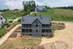 View of the Back of The Model Home At Gracie Ln Weaverville