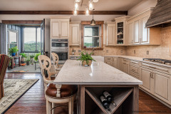 In the Kitchen with a Mountain View in Garrison Hills