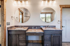 Custom Design Bathroom by Future Homeowner at Garrison Hills