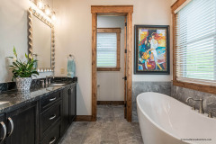 Luxurious Bathroom in the Garrison Hills Weaverville
