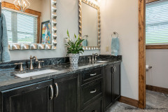 Stunning Workmanship in this Bathroom at Garrison Hills