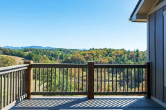 Mountain Views on the Deck at one of Our Homes Garrison Hills
