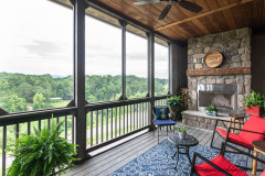 Second Patio at  Garrison Hills Home with Amazing Mountain Views