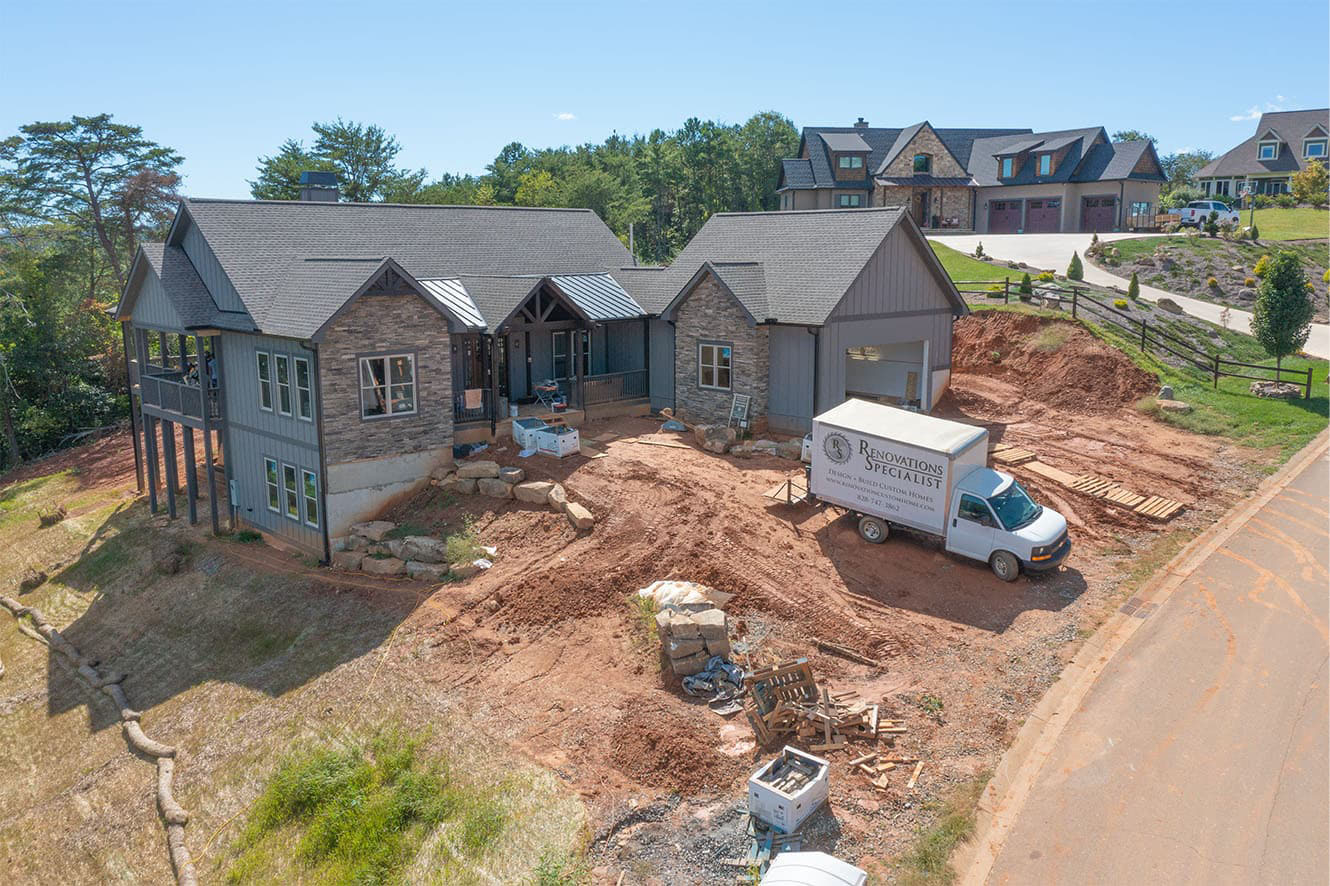 44 Gracie Ln is Coming to Completion