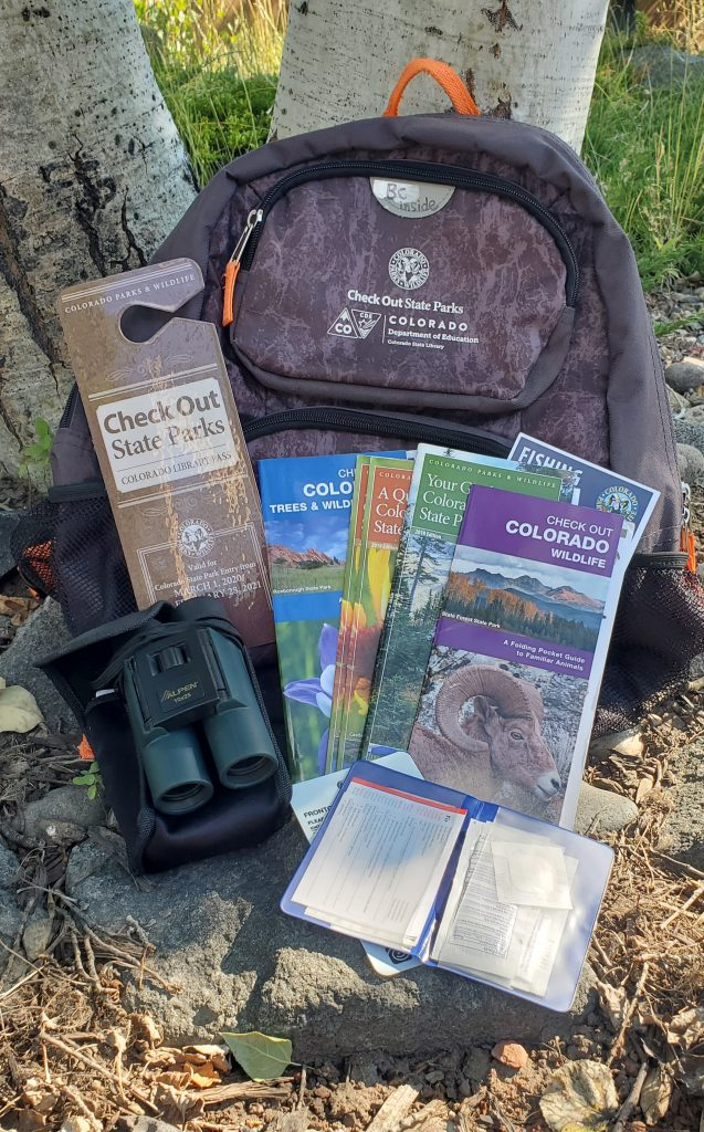 State Park Backpack with contents