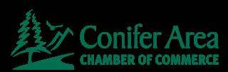 conifer co chamber of commerce - logo