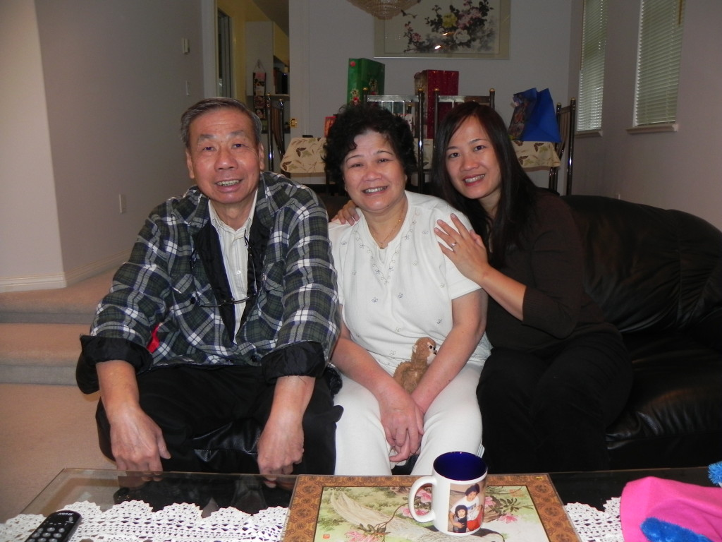 My parents and me